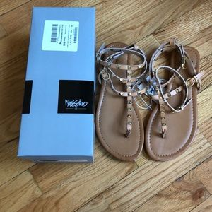 Mossimo Tan Studded Sandal